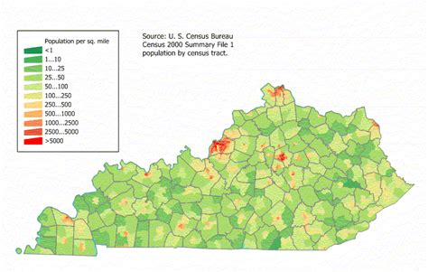 kentucky economic map kentucky maps and state information