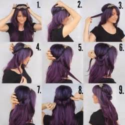 hairstyle for medium hair with one hair band easy to make ringlet hairband hairstyle find fun art