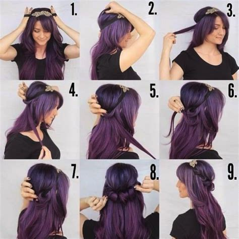 hairstyles using hair bands easy to make ringlet hairband hairstyle find fun art