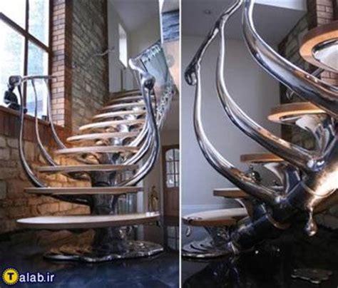 unusual banisters مدل های زیبا و خلاقانه نرده پله تصویری تکناز