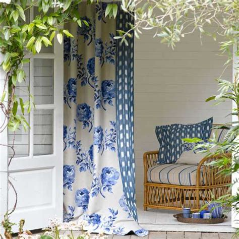 curtain fabric ideas outdoor curtains for porch and patio designs 22 summer