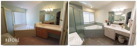 before and after bathroom remodels pictures bathrooms before and after 2016 jesconation com as