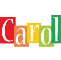 carol color carol logo name logo generator smoothie summer