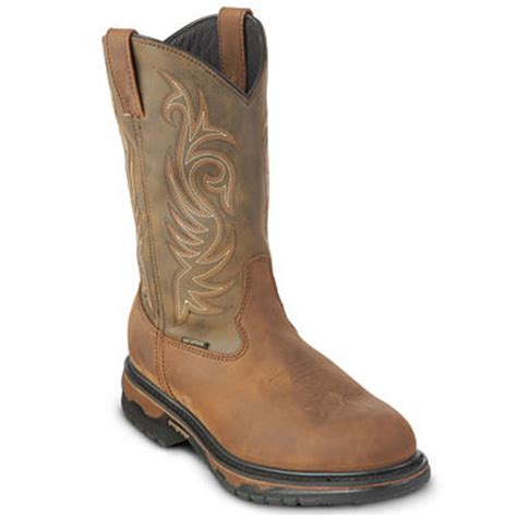 jcpenney cowboy boots laredo 174 mens 11 quot waterproof cowboy boots jcpenney