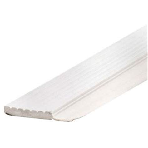 Garage Door Weatherstripping Home Depot Md Building Products 7 Ft White Dual Vinyl Top And Side