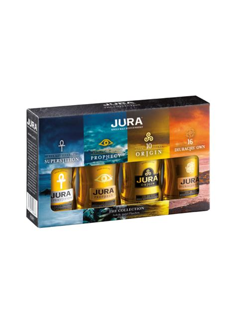 geschenkset the isle of jura collection 4 x 0 05 l