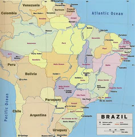 brazil map brazil the guide