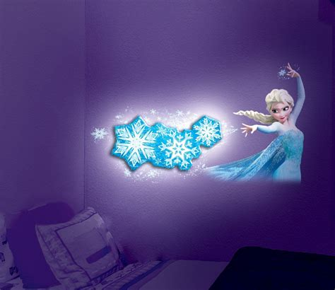 night light snowflake adoption frozen elsa snowflake light dance room light official