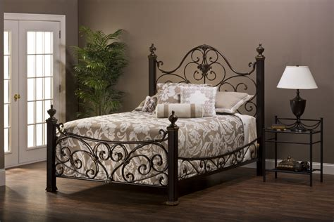 Rod Iron Bedroom Furniture Bedding Iron Beds Metal Headboards Size Bed Frames Wrought Also King Rod Frame Pk Design