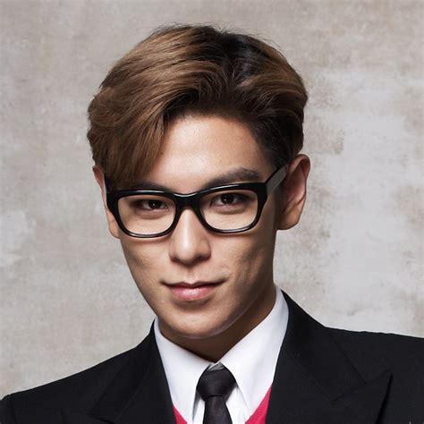 top bigbang haircut big bang t o p brown medium side part cool asian hair