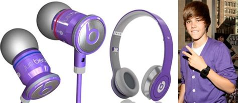 justbeats by dr dre headphones are justin bieber s