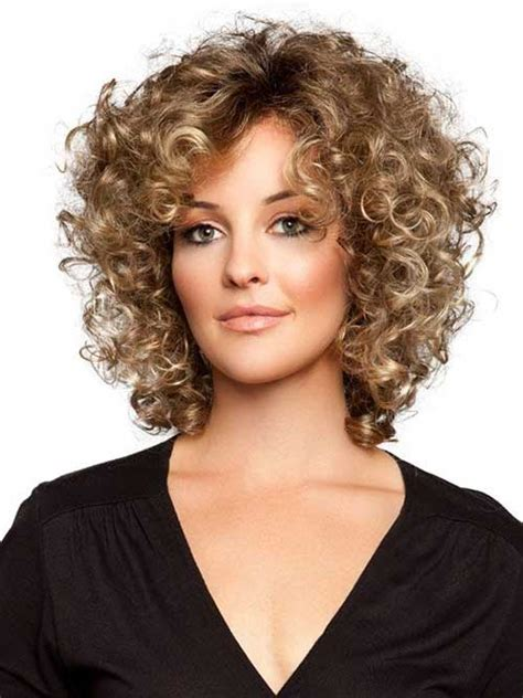 haircuts for fine curly hair 25 short and curly hairstyles short hairstyles 2017
