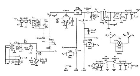 the aa8v 6146b lifier lifier schematic diagrams