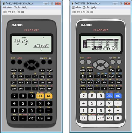 Casio Kalkulator Calculator Casio Fx Fx 50f Ii Fx 50f Ii classwiz emulator subscription supporting options in the
