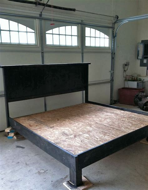 How To Build A Bed Frame And Headboard by 25 Best Ideas About Diy Platform Bed On Diy