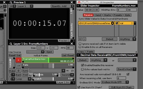 unity osc tutorial syncing the playback of multiple movies in vdmx over a