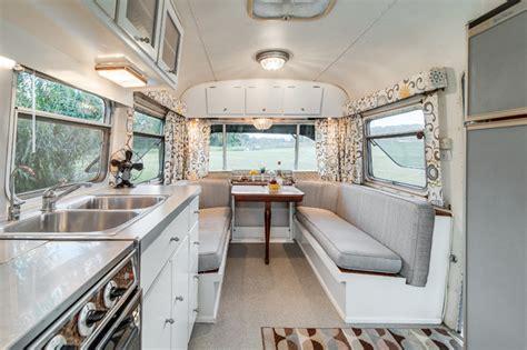 Redo Home Design Nashville by 72 Avion Camper Renovation Midcentury Dining Room