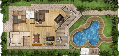 layout design of villa oasis villas resort