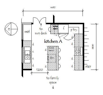 kitchen floor plans with dimensions kitchen cost calculator