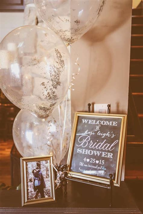 White Gold Photos by 25 Best Ideas About Bridal Shower Decorations On