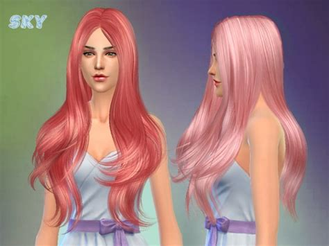 download hairstyles sims 4 free the sims resource hair 254 by skysims sims 4 downloads