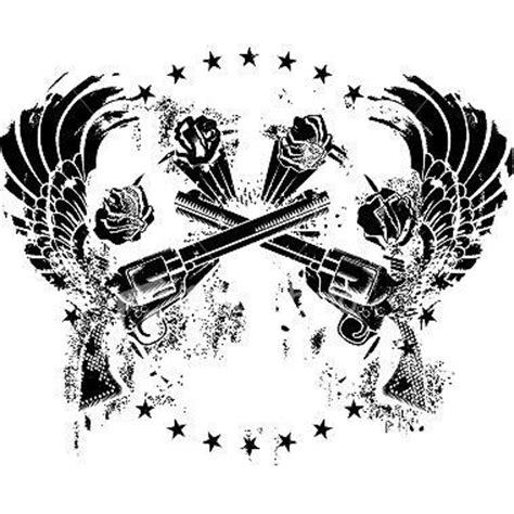 tribal gun tattoos 29 best gun stencils images on