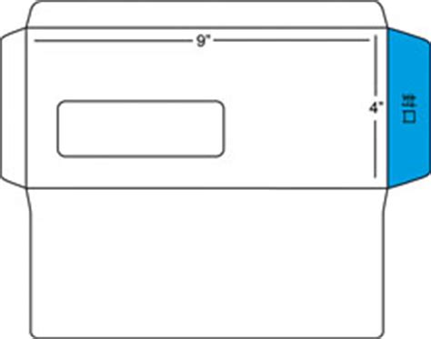 double window envelope template pdfs windowenvelopes com