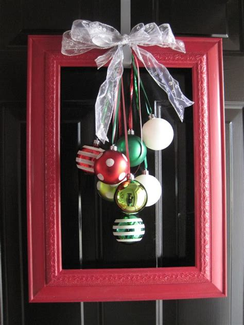 diy picture frame ornaments creatively lovely framed ornaments