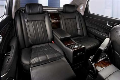 Hyundai With Reclining Seats by Test Driving The 2013 Hyundai Equus Nikjmiles
