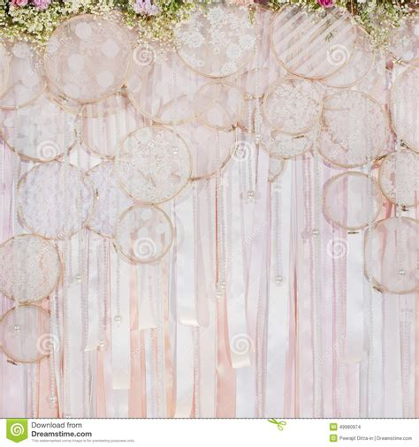 Wedding Backdrop Vector by Beautiful Flowers Background For Wedding Stock Photo