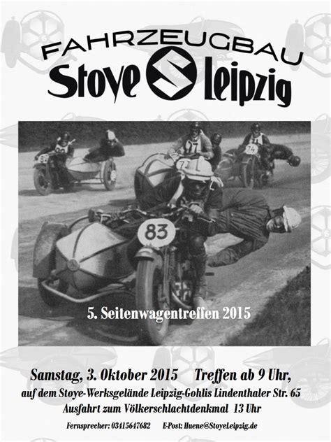 Motorradmesse Chemnitz 2015 by Fahrzeugbau Stoye Leipzig Archiv