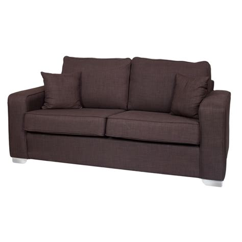 new york 3 seater fabric sofa