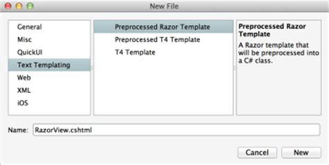 Building Html Views Using Razor Templates Xamarin Server As Built Document Template