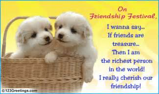 if friends are treasure free friendship festival ecards 123 greetings