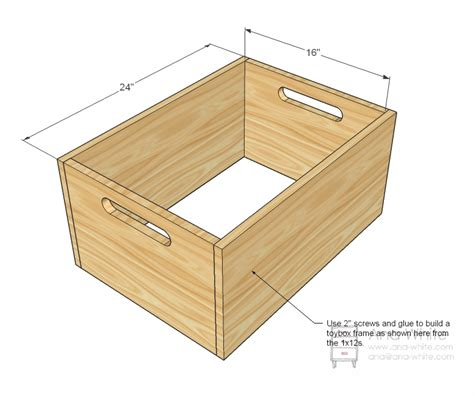 simple toy box plans discover woodworking projects