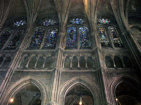 Chartres Cathedral Interior by File Triforium Chartres Jpg Wikimedia Commons