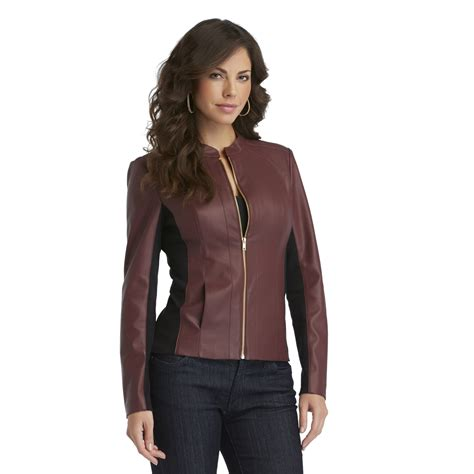 Sofia The Jacket sofia by sofia vergara s faux leather moto jacket