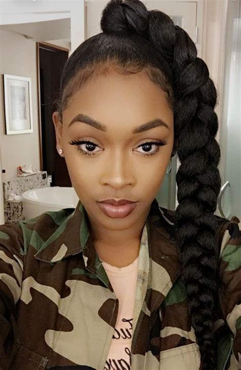 braids u can get with two packs of weave 24 best jumbo braid xpressions braiding hair images on