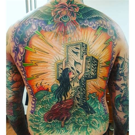 rock of ages tattoo design 10 classic rock of ages tattoos tattoodo