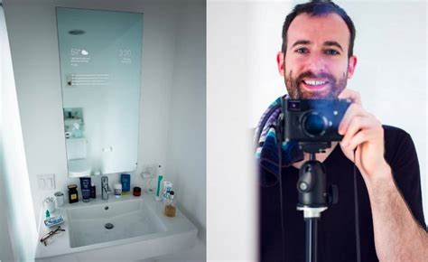 smart mirror bathroom this software engineer just created a google now smart