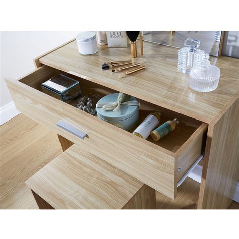 dressing makeup table set vanity drawer dresser desk