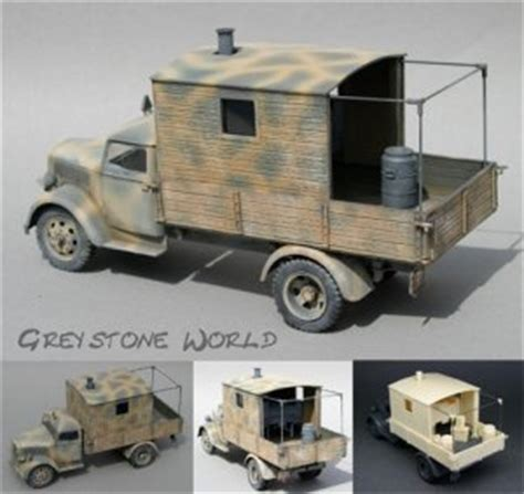 Pel Set Id 72 armorama wehrmacht truck and trailer