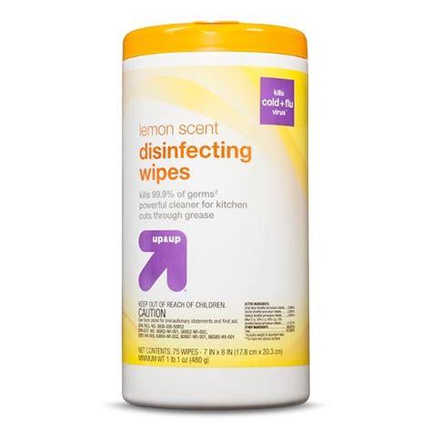 disinfecting wipes lemon scent  ct upup target