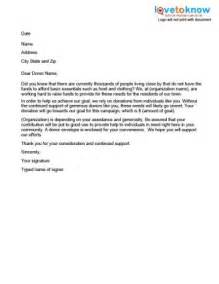 sample cover letter giving donation 2