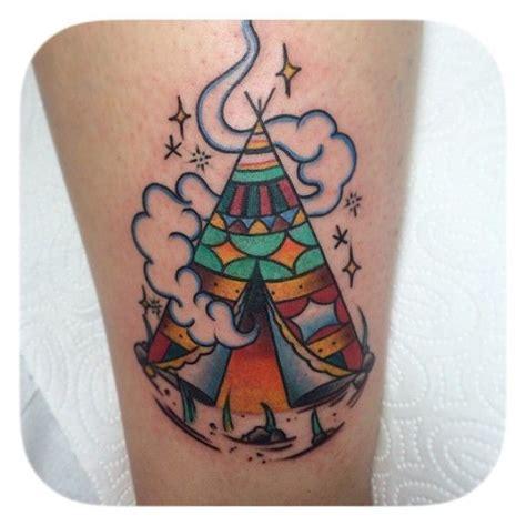 teepee tattoo 15 nomadic tipi tattoos tattoos tipi