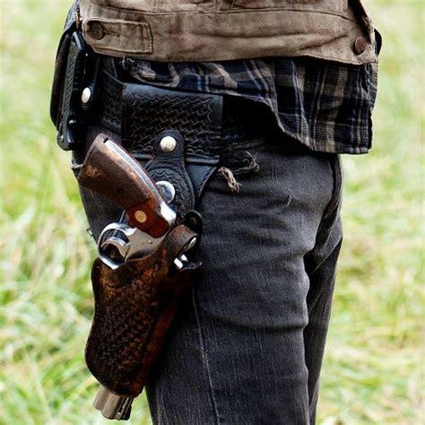 Rick Grimes Walking Dead Belt Set rick grimes colt python holster www pixshark images galleries with a bite