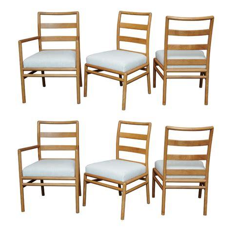 Ladderback Dining Chairs Th Robsjohn Gibbings Ladderback Dining Chairs For Widdicomb At 1stdibs