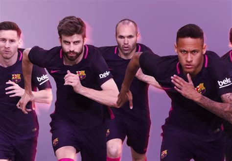 Jersey Inggris Away Konfederasi 2017 barcelona rilis jersey away mereka goal