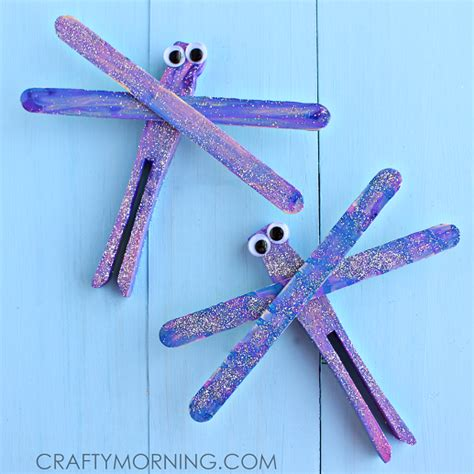 popsicle stick craft for popsicle stick dragonfly craft for crafty