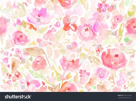 watercolor floral pattern background modern watercolor floral background watercolor background